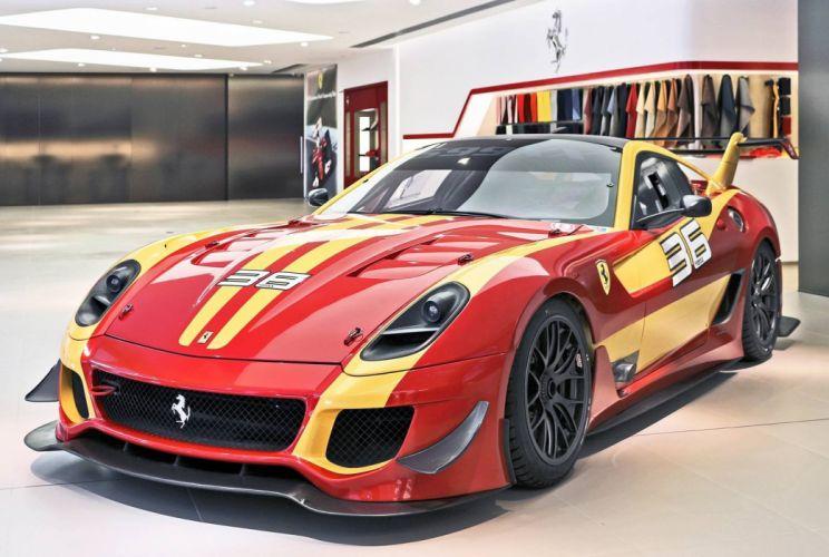 Ferrari 599-XX evo racecars cars wallpaper