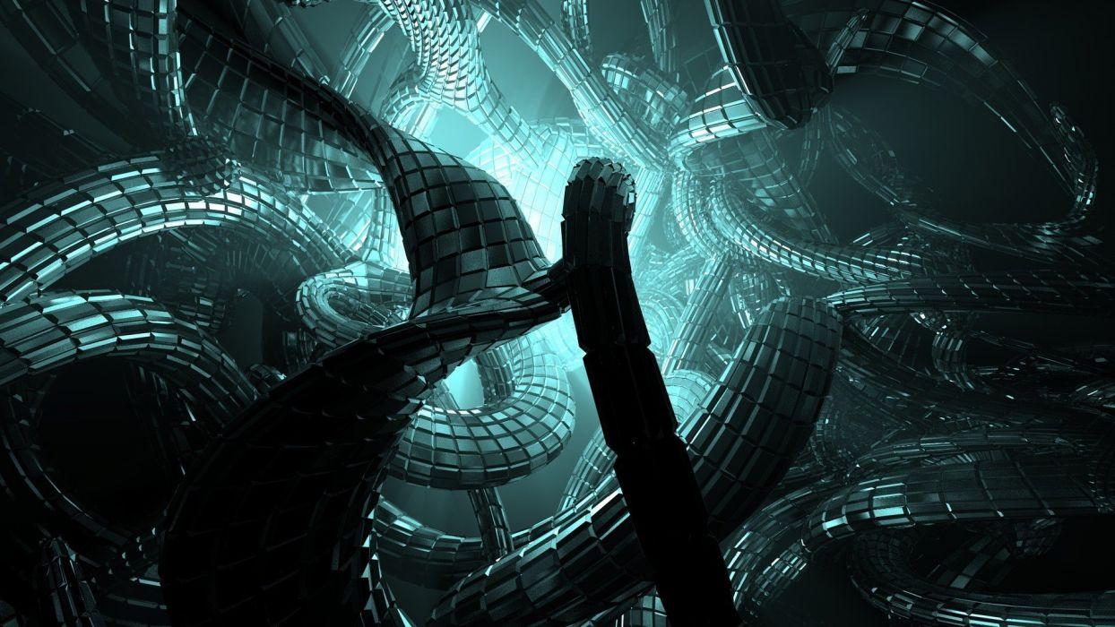 abstracto scifi wallpaper