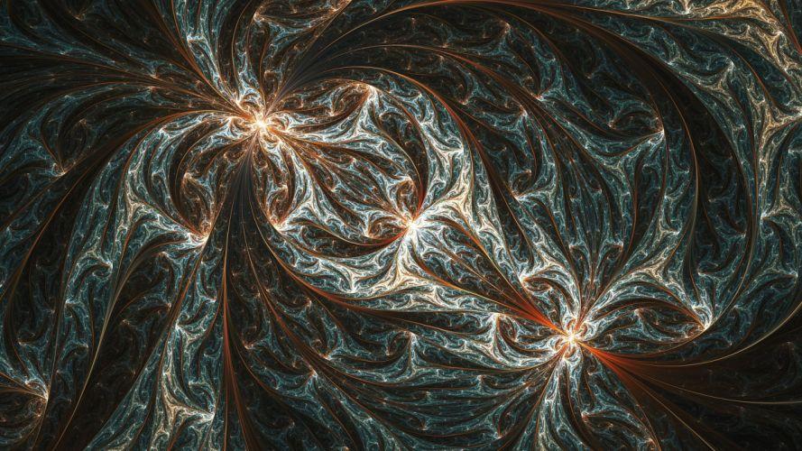 abstracto fractal wallpaper