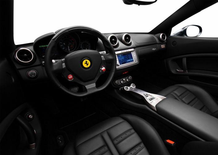 Ferrari California US-spec 2009 cars convertible wallpaper