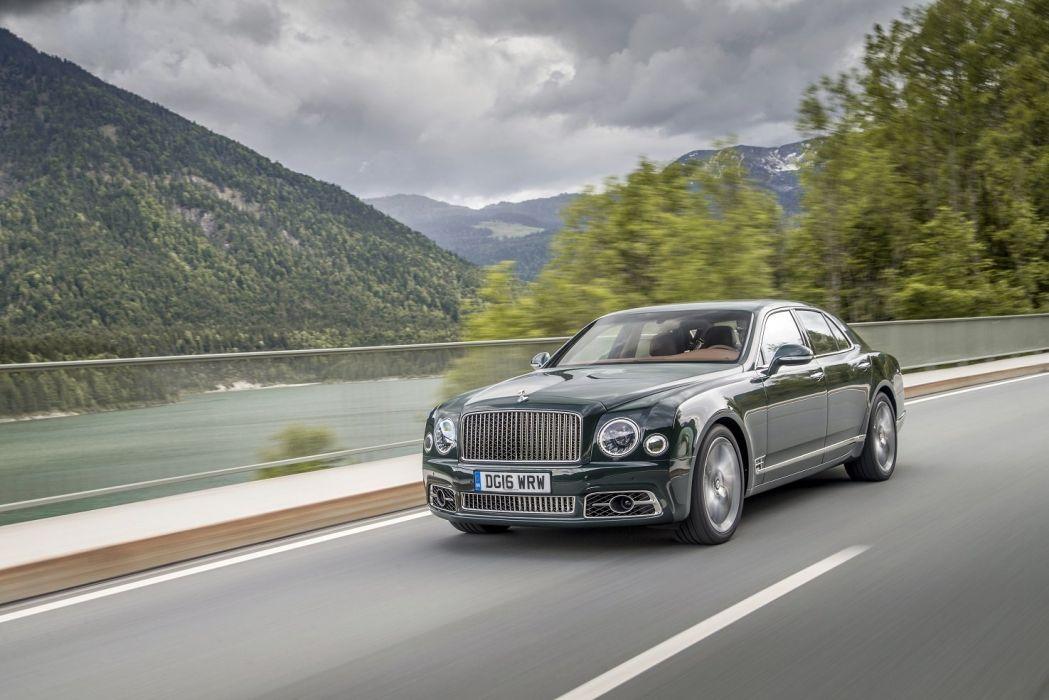 Bentley Mulsanne Speed cars 2016 wallpaper