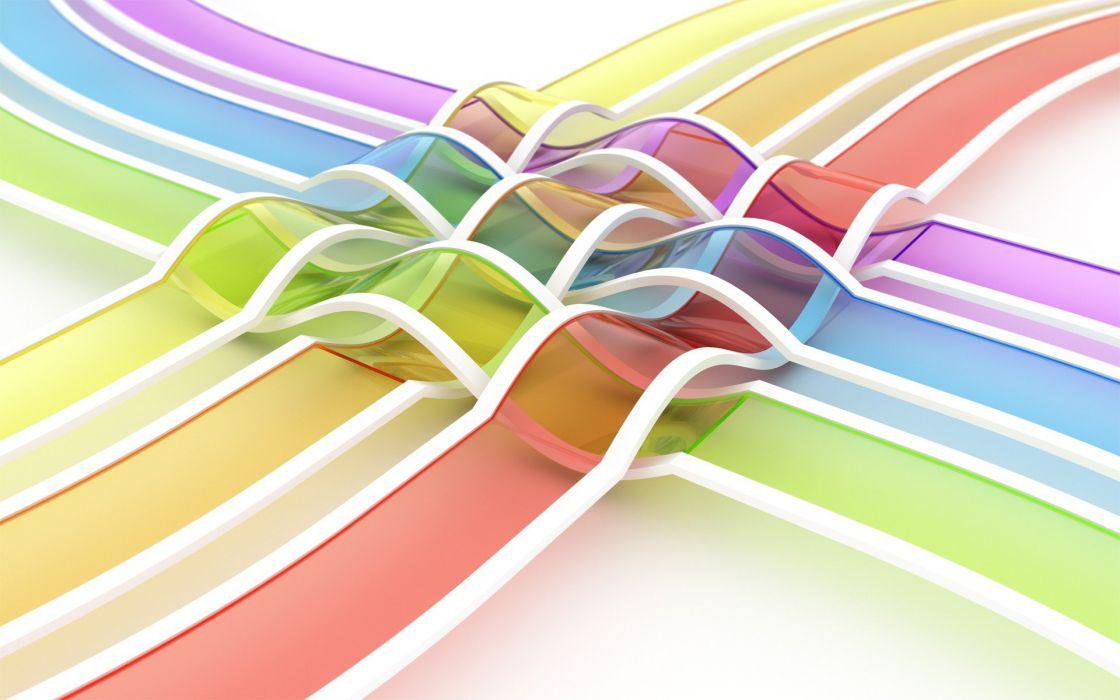 abstracto lazos colores wallpaper