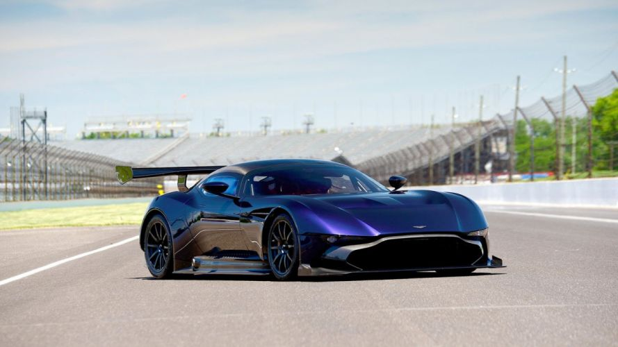 Aston Martin Vulcan cars supercars blue 2016 wallpaper