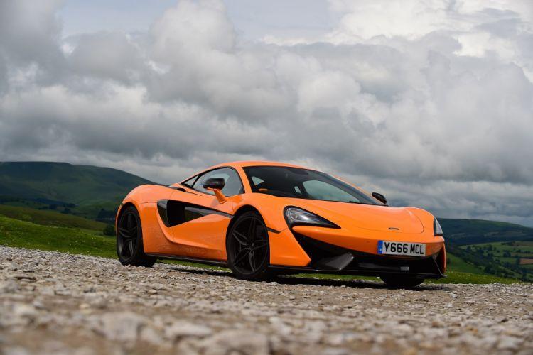 McLaren 570S Coupe UK-spec cars orange 2015 wallpaper