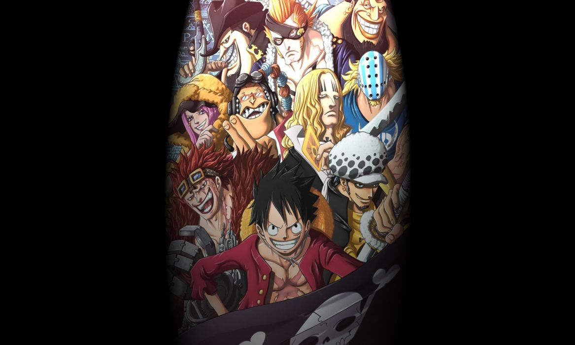 Pirates Of The Worst Generation Of The One Piece Best Wallpaper