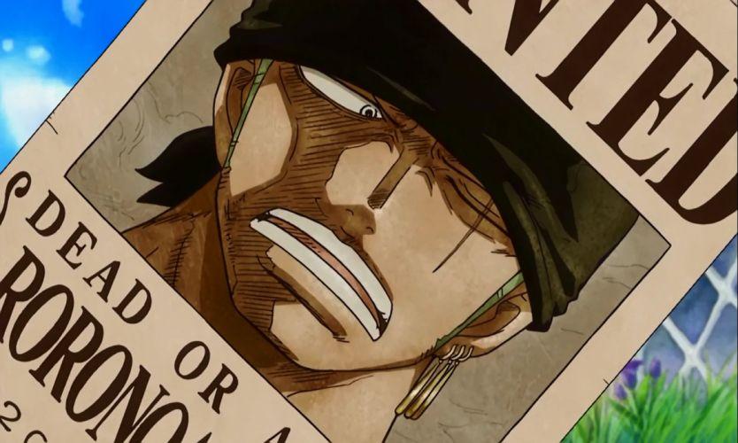 Zoro the best swordsman Wanted prime One Piece best wallpaper anime HD wallpaper