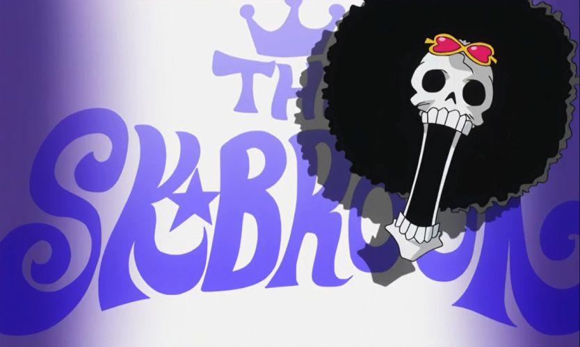Brook skulton One piece best wallpaper anime HD wallpaper