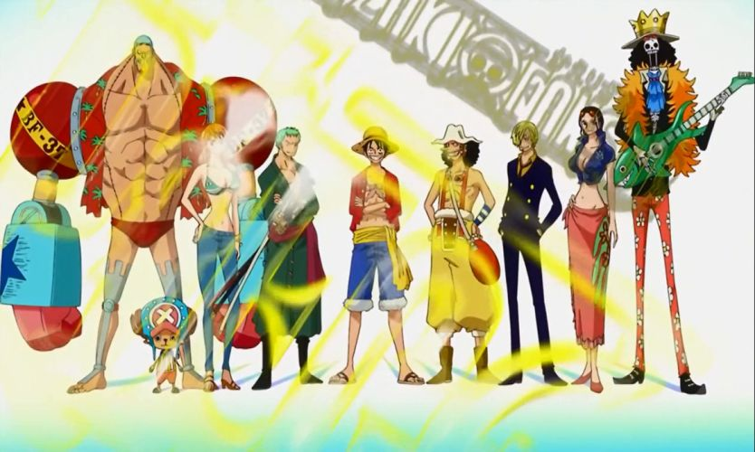 The crew of Luffy One piece best wallpaper HD anime wallpaper
