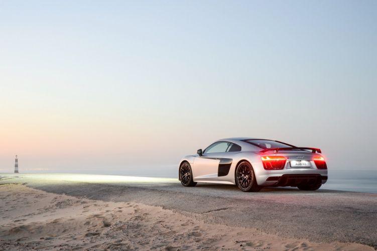 Audi R8 V10 Plus ZA-spec cars coupe 2016 wallpaper