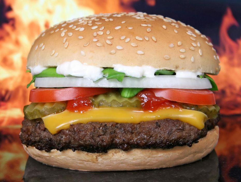 comidas hamburguesa wallpaper