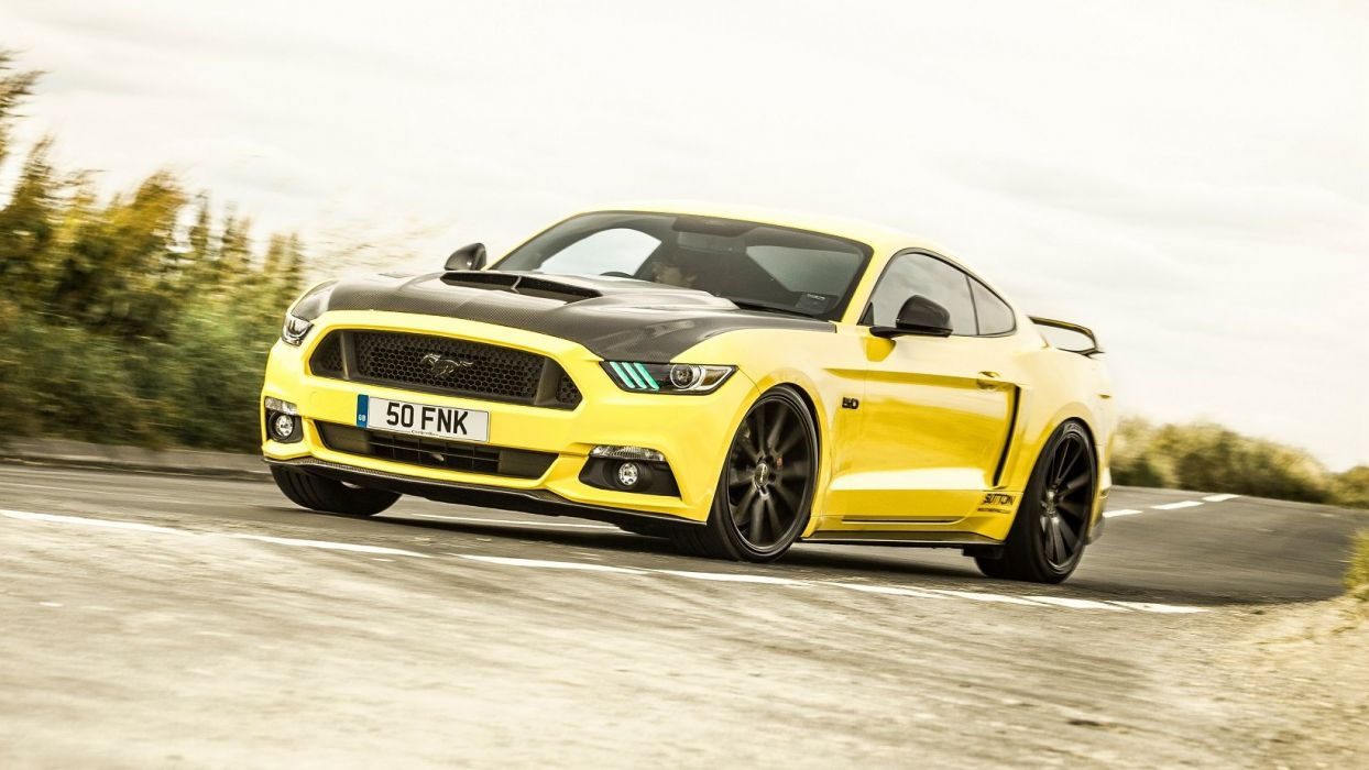 Clive Sutton Ford Mustang CS700 cars modified 2016 wallpaper