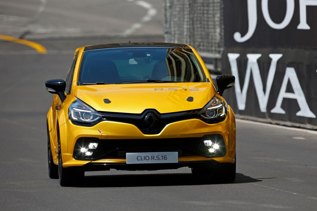 Renault Clio R S 16 Concept cars french 2016 wallpaper