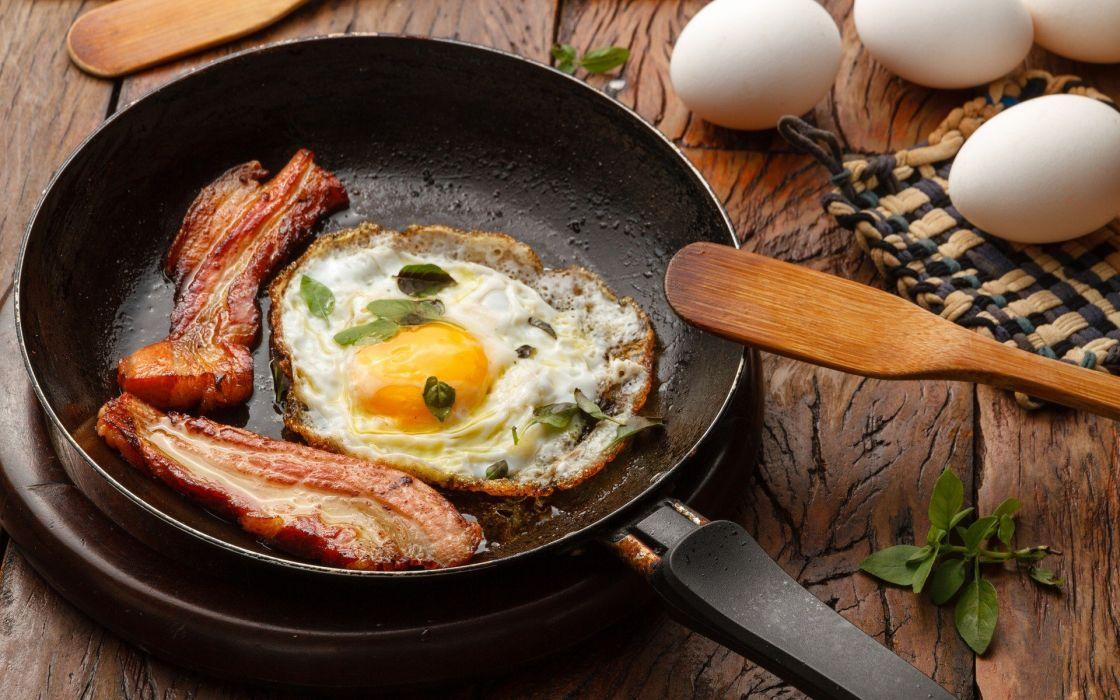 comida huevo frito bacon salten wallpaper