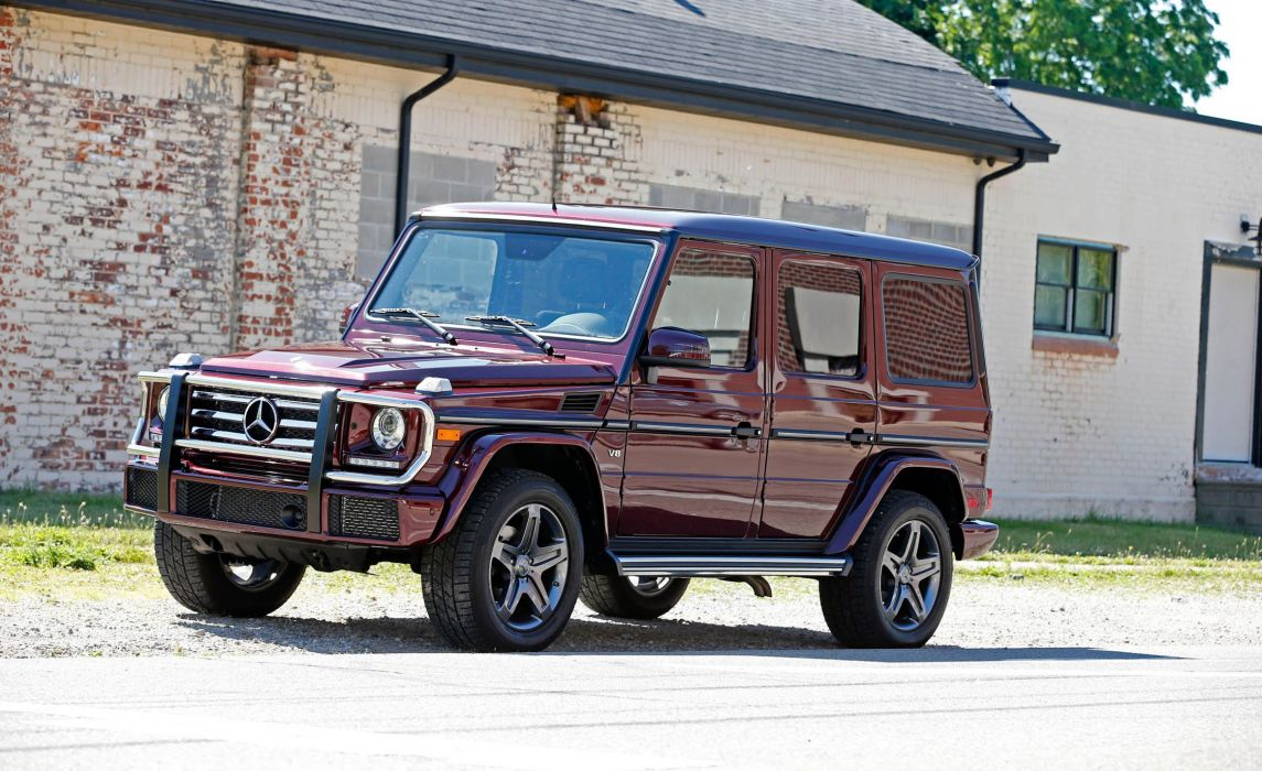 2016 Mercedes Benz G-550 cars 4x4 (W463)  wallpaper