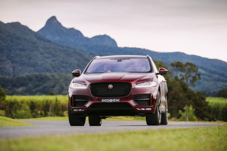 Jaguar F-Pace 20d AWD R-Sport suv cars AU-spec 2016 wallpaper