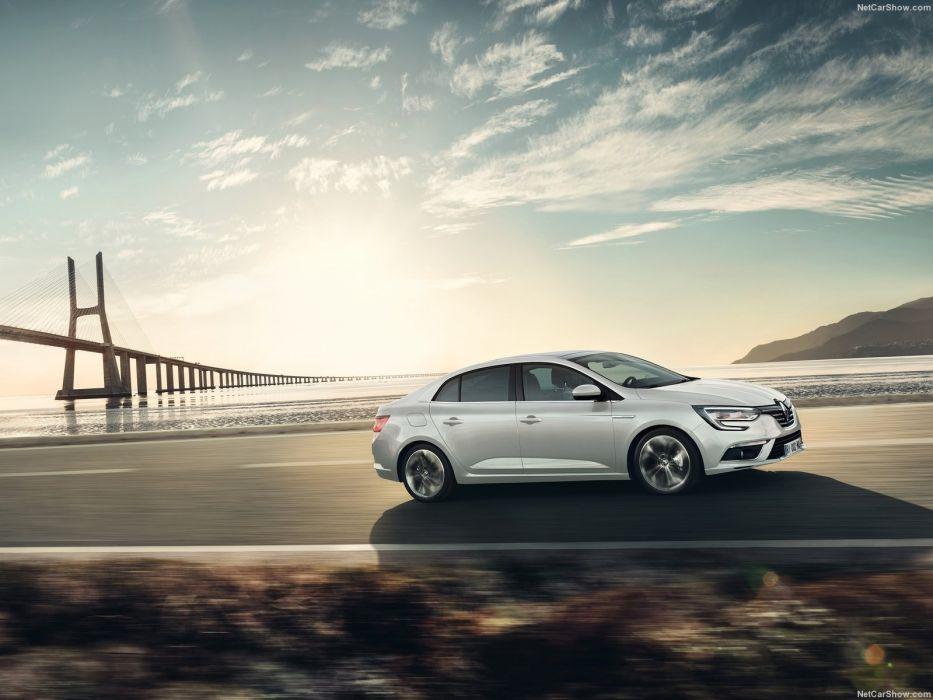 Renault Megane Sedan cars french 2016  wallpaper