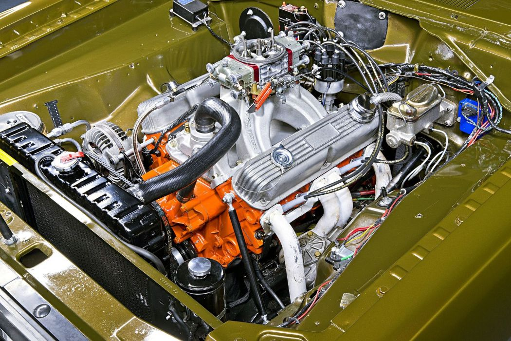 Dodge Demon cars classic 1971 engine wallpaper