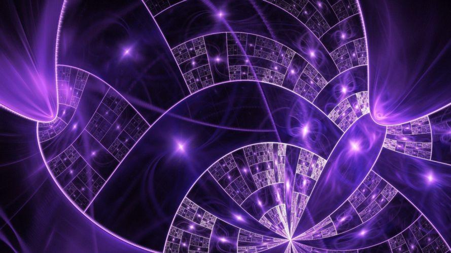 Purple Fractal wallpaper