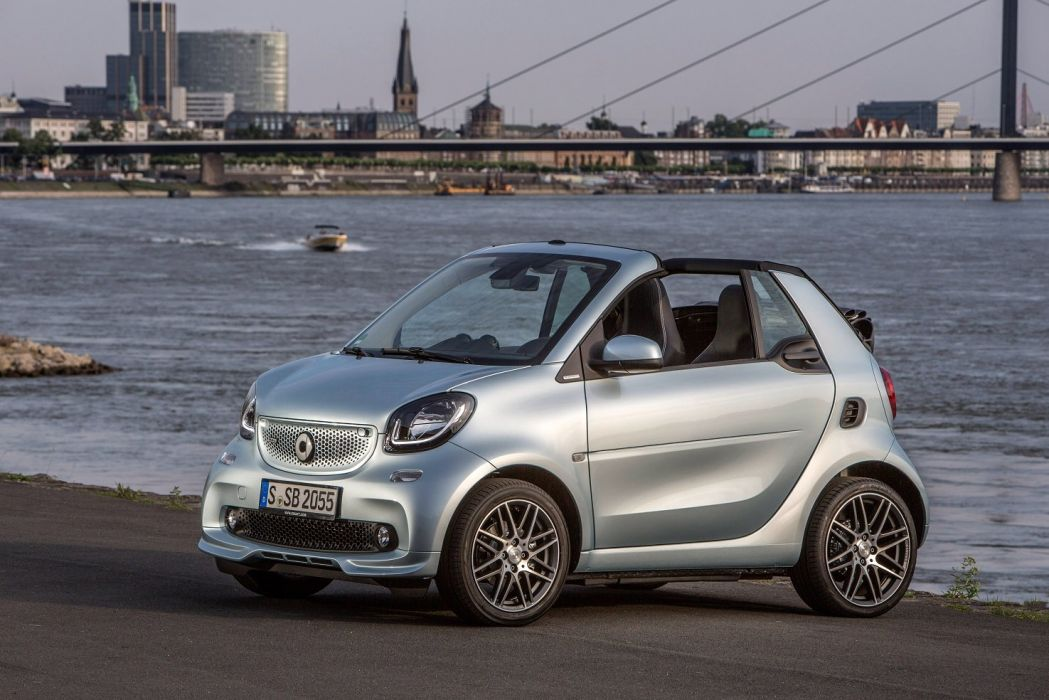 smart BRABUS fortwo tailor made cabrio (A453) cars 2016 wallpaper
