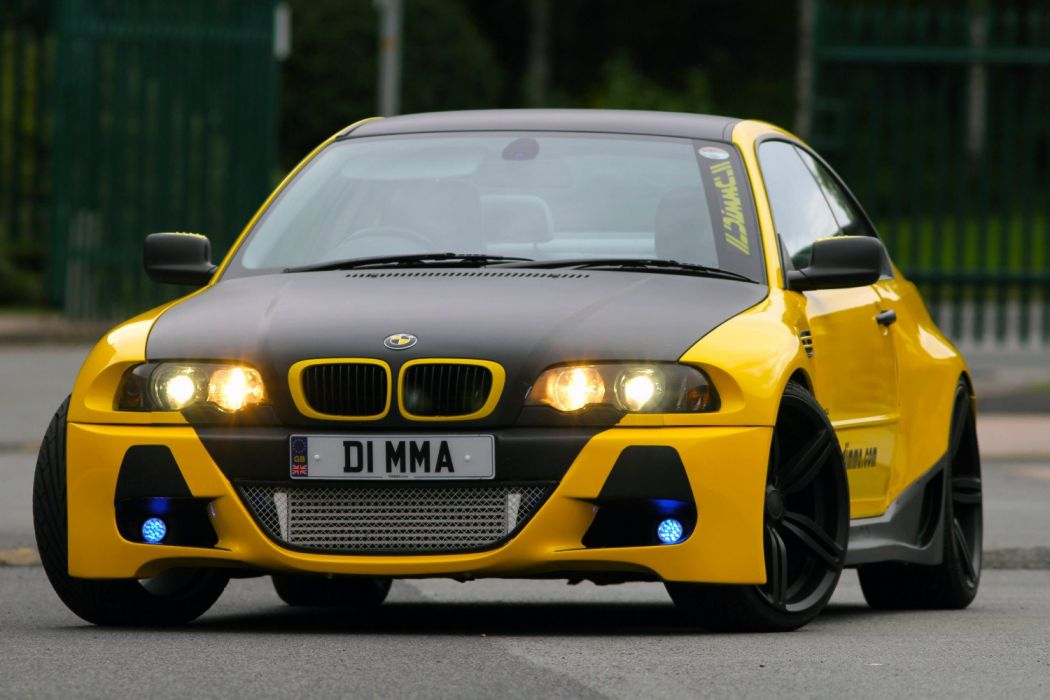 Dimma Bmw M3 Coupe E46 Coupe Cars Modified Wallpaper 1500x1000 995637 Wallpaperup