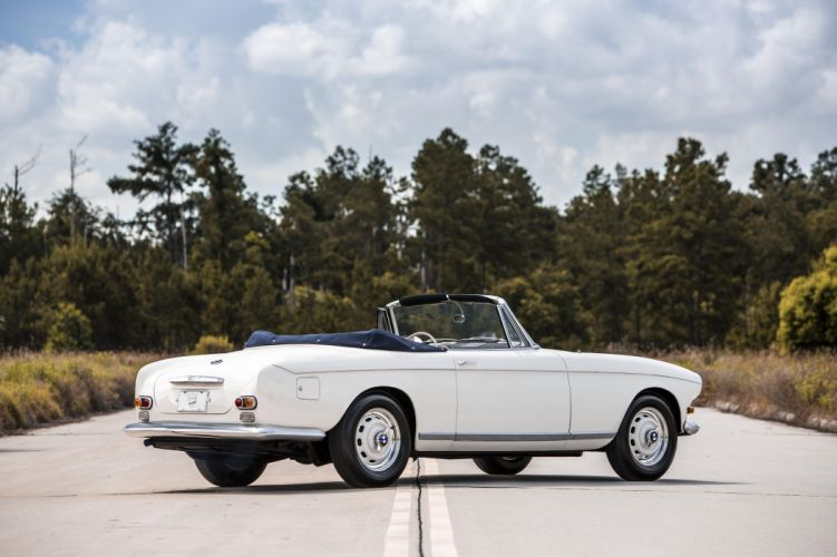 BMW 503 Cabriolet (Series I) cars white classic 1956 wallpaper