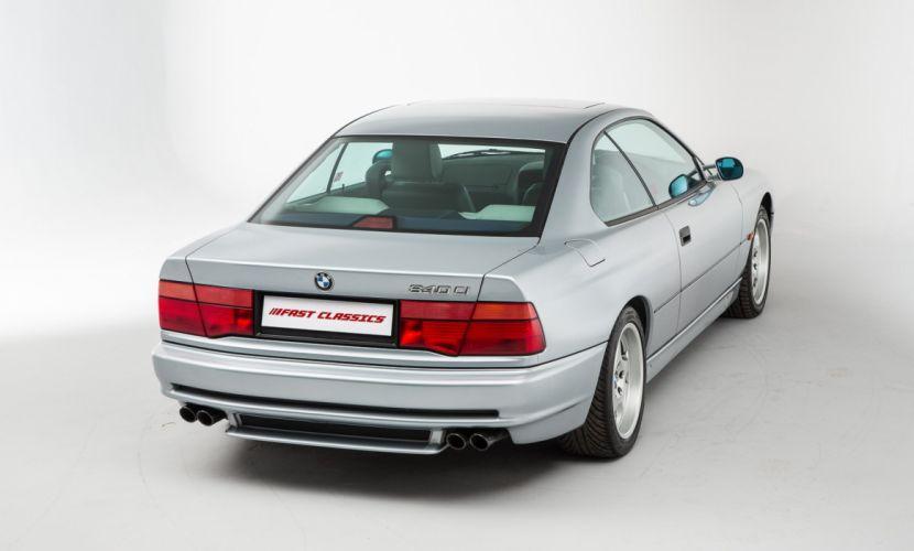BMW 840 Ci UK-spec (E31) cars coupe 1993 wallpaper