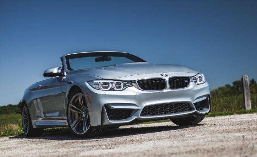 BMW M4 Convertible US-spec (F83) cars 2014 wallpaper