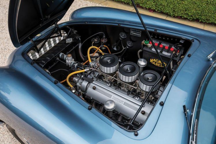 Ferrari 212 Inter Coupe cars blue classic 1952 wallpaper
