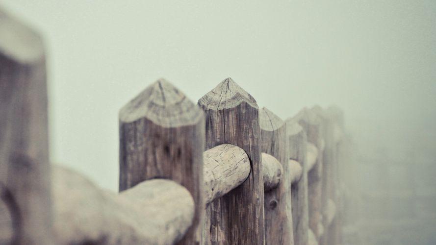 vallado madera troncos wallpaper