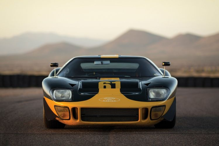1966 Ford GT40 Le Mans Race Cars racecars wallpaper