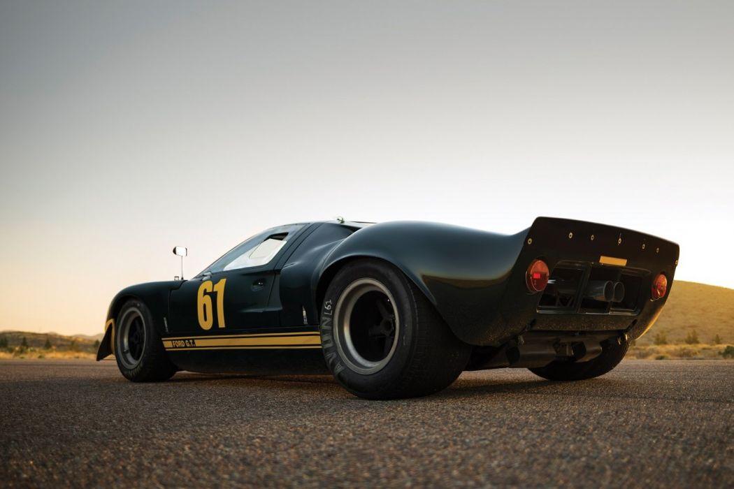 1966 Ford Gt40 Le Mans Race Cars Racecars Wallpaper