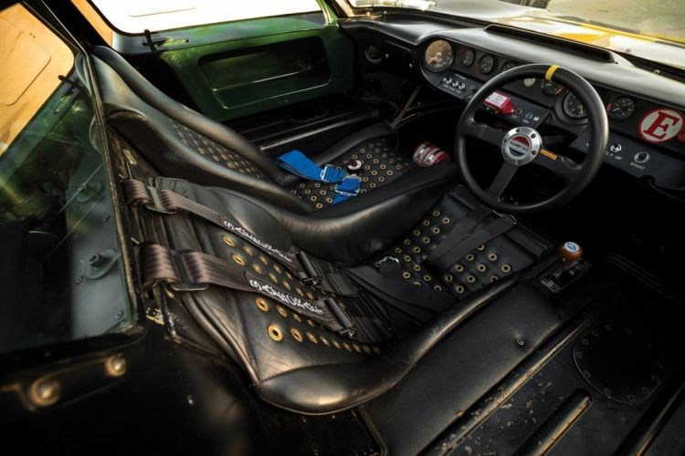 1966 Ford GT40 Le Mans Race Cars racecars interior wallpaper