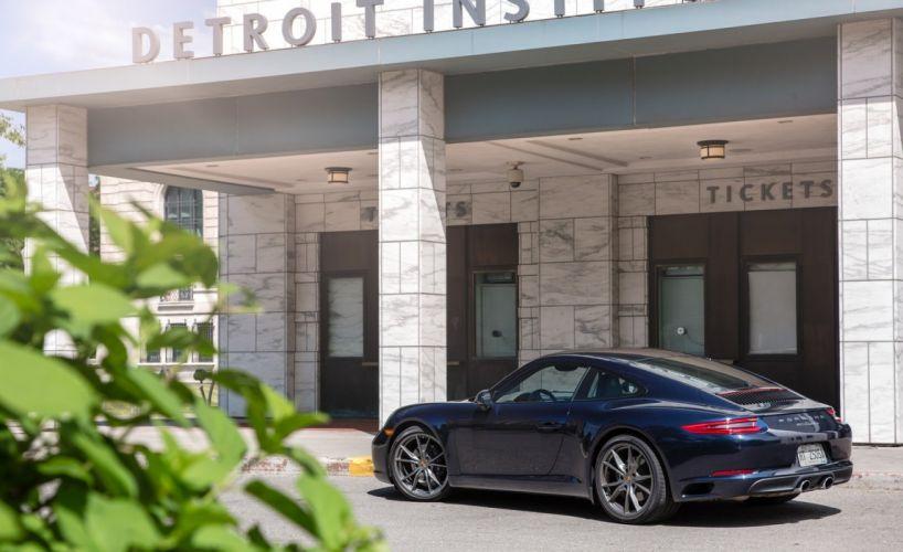 2016 Porsche 911 Carrera Coupe US-spec (991) cars coupe wallpaper