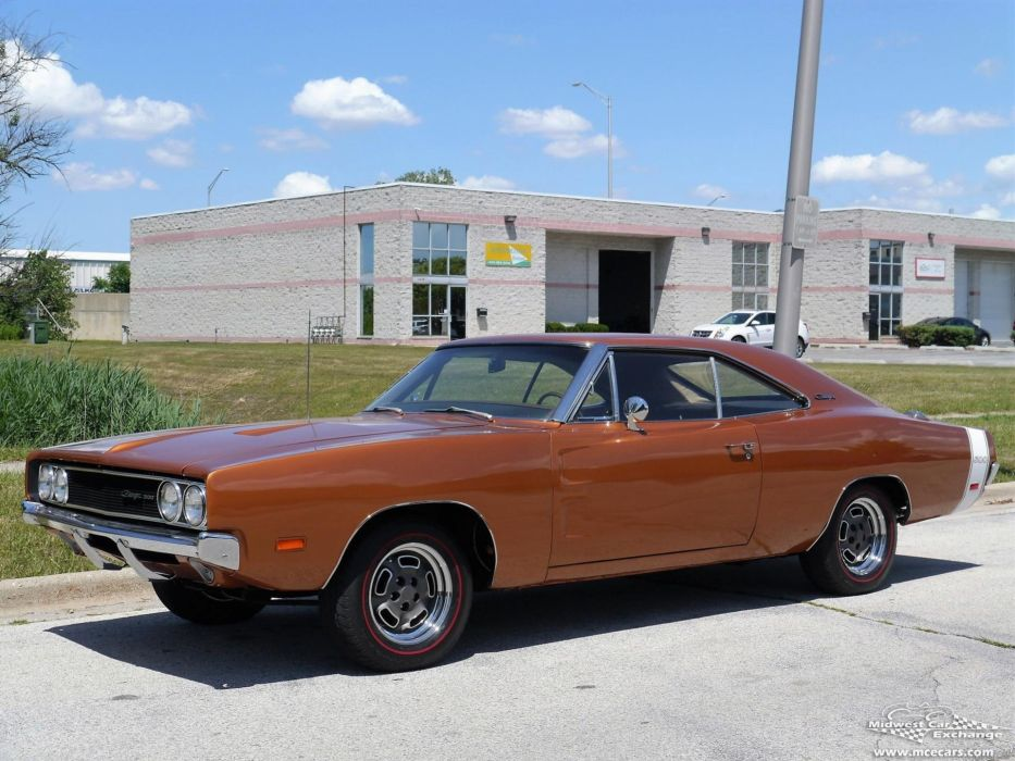 1969 Dodge Charger 500 Fast Top coupe cars wallpaper