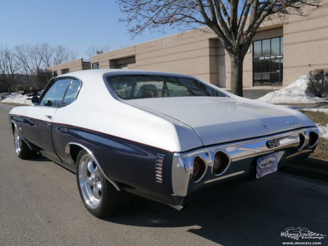 1972 Chevrolet Chevelle cars classic coupe wallpaper