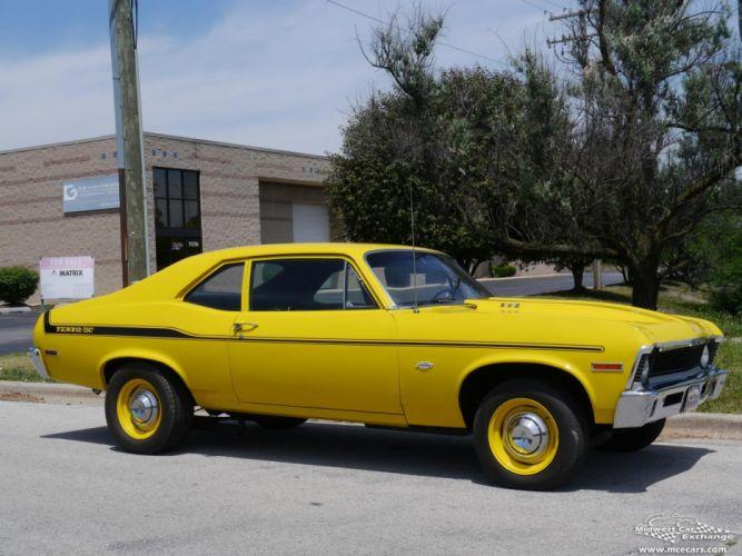 1971 Chevrolet Nova Yenko Tribute cars coupe yellow wallpaper