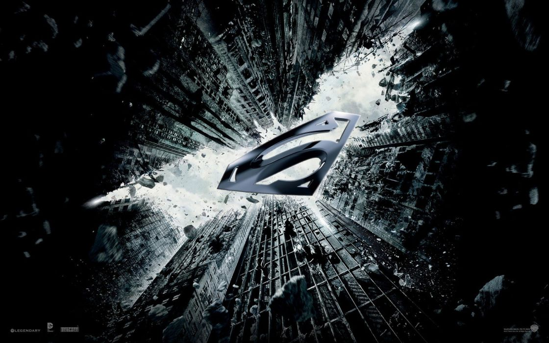 Movies batman the dark knight rises VS super man man of steel best wallpaper HD 1920x1200 wallpaper