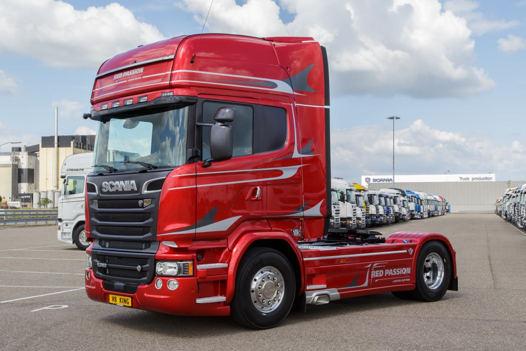 Scania Red Passion 1 wallpaper