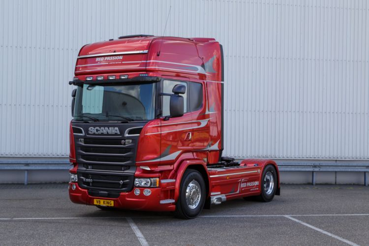 Scania Red Passion 2 wallpaper