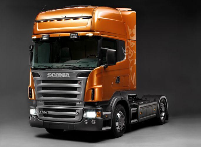 Scania-R580 wallpaper