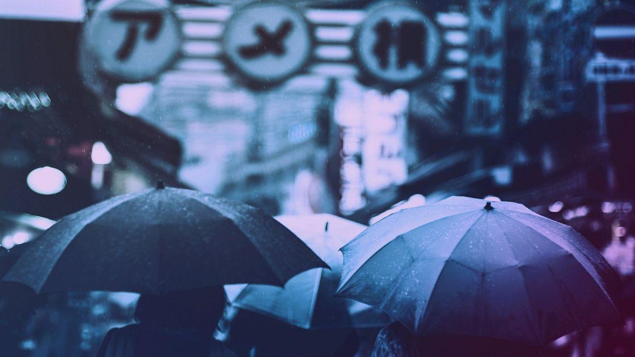 paraguas dia lluvia wallpaper