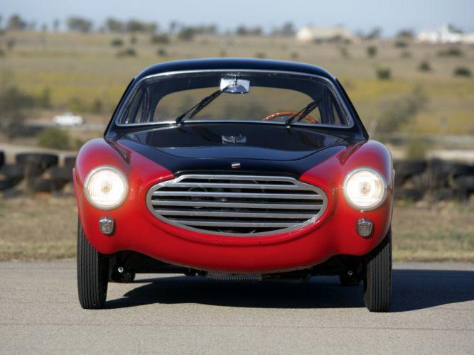 Moretti 750 Gran Sport Berlinetta Michelotti classic cars 1953 wallpaper