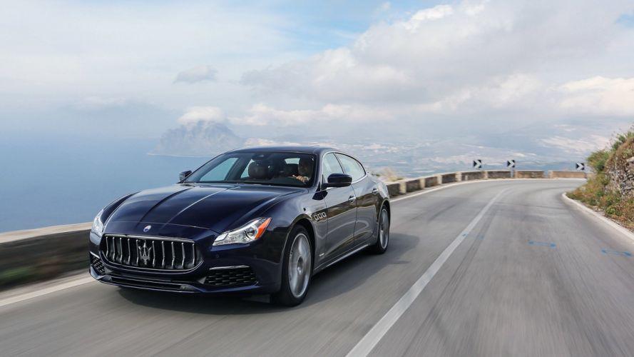 2016 Maserati Quattroporte GTS cars sedan wallpaper