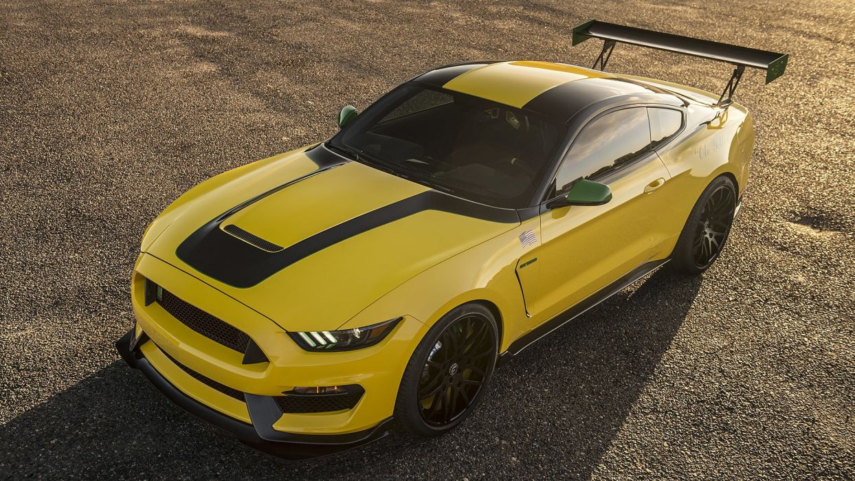 Ford shellby gt 350 builds wild p 51 inspired mustang cars yellow 2016 wallpaper