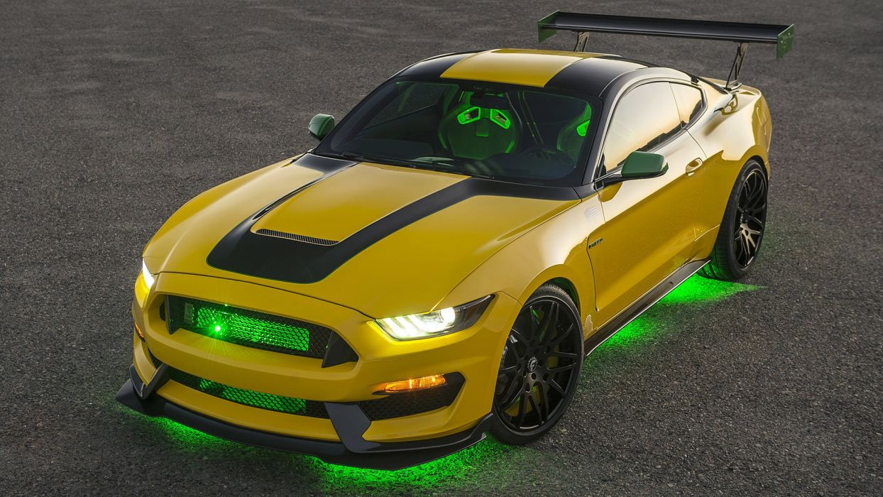 Ford Shellby Gt  Builds Wild P  Inspired Mustang Cars Yellow  Wallpaper