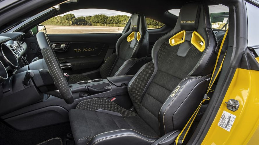 Ford shellby gt-350 builds wild P-51 inspired Mustang cars yellow 2016 wallpaper