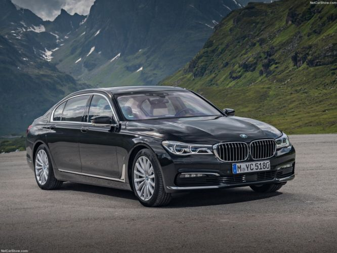 BMW 740Le xDrive iPerformance cars 2016 wallpaper