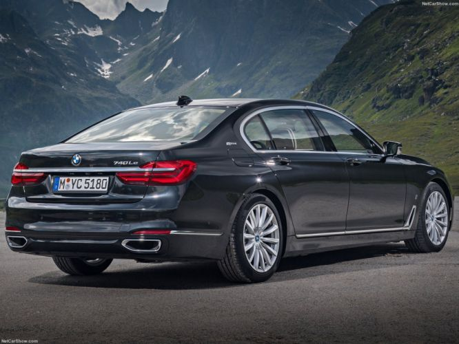 BMW 740Le xDrive iPerformance cars 2016 wallpaper