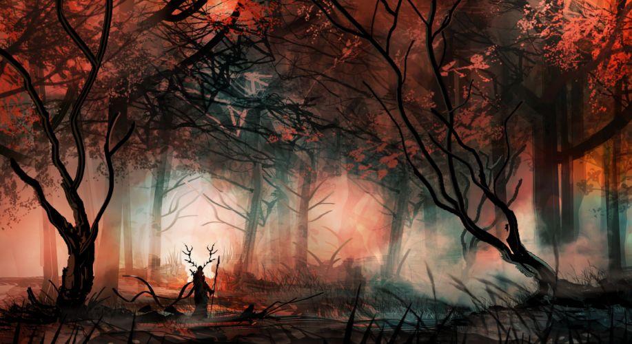 art artwork fantasy original wallpapers background (38) wallpaper