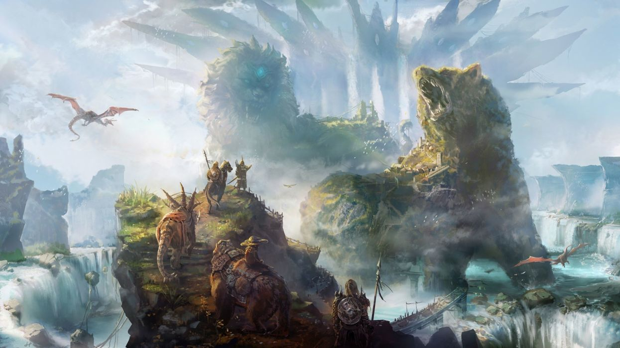 art artwork fantasy original wallpapers background (56) wallpaper